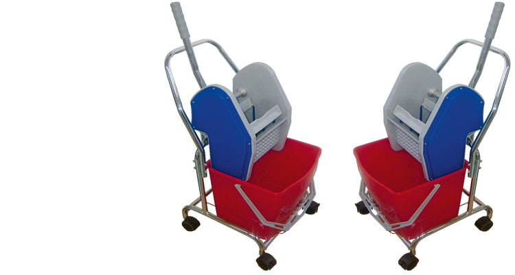 Professional cleaning tools - PROFESSIONAL CLEANING TROLLEY SINGLE Y1008-1