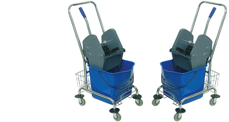 Professional cleaning tools - PROFESSIONAL  CLEANING  TROLLEY SUPER