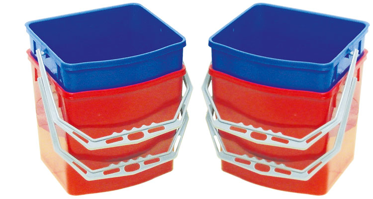 Professional cleaning tools - ΚPROFESSIONAL BUCKET 25LIT FOR TROLLEY (Y1008-1)