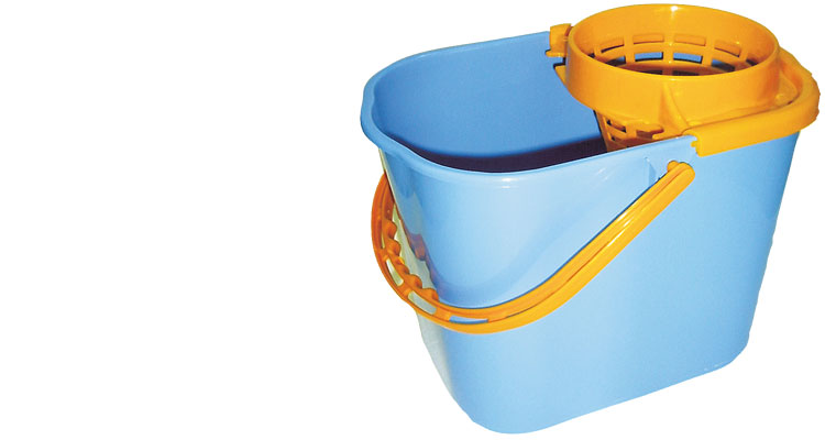 Professional cleaning tools - BUCKET WITH WRINGER PROFESSIONAL