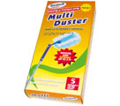 STATUS CLEAN  MULTI-DUSTERS LONG HANDLE (HANDLE & 5 CLOTHES) - Dusters