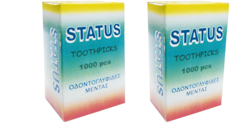 Toothpicks - TOOTHPICKS  Α΄1000 PCS  PACKED ONE BY ONE