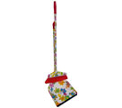 DUSTPAN WITH LONG HANDLE AND BROOM (PRINTED) - Dust pans