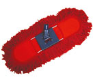 FLOOR  MOP COTTON Νο50  RED  IN  CASE  WITHOUT  HANDLE - Floor mops