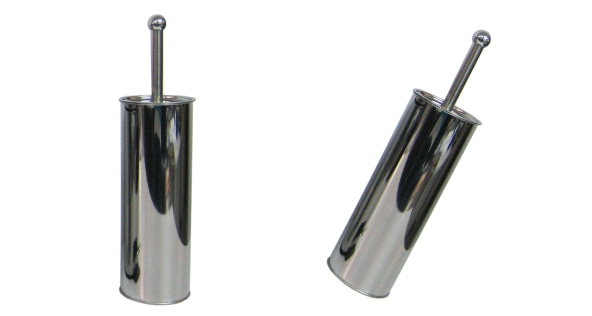 Stainless Steel Bins - TOILET  BRUSH  (WC) STAINLESS STEEL
