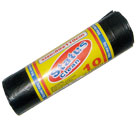 PLASTIC  GARBAGE  BAGS 10PCS/ROLL PROFESSIONAL (80Χ110cmHDPE) - Garbage bags