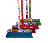 BROOM  WITH  HANDLE (PRINTED) - Brooms-brushes