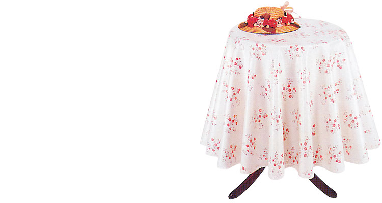 Table clothes - TABLECLOTH  PRINTED  ROUND 140cm