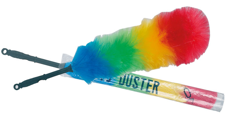 Dusters - DUSTER  SYNTHETIC  40cm  4 COLORS MAGNETIC DUSTER