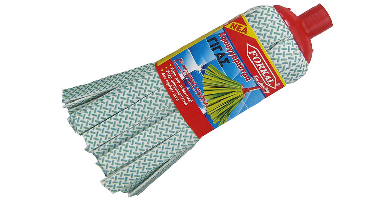 Mops - MOP  NON WOVEN  TOP  (GREEN-BLACK  ROMBUS) LARGE