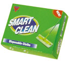SMART CLEAN DUSTER  ELECTROSTATIC  PACKET  20 PCS (21x30cm) - Dusters